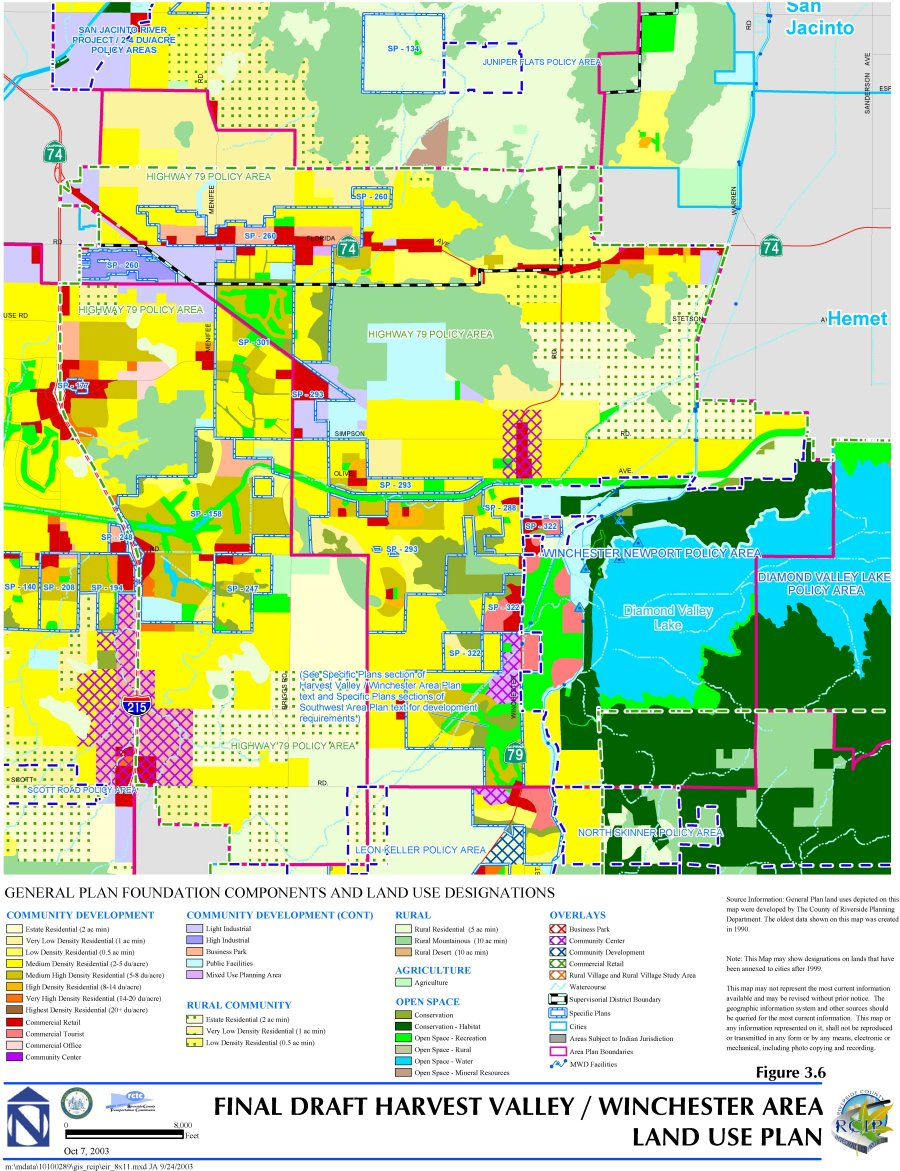 General Plan Environmental Impact Report Volume I Green Acres Sprinkler Company Wiring Connections Hub Vs Daisy The Community Of Located In Eastern Portion Planning Area Is A Low Density Residential That Buffered From City